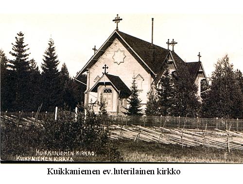 Kuikkaniemen ev.lut. kirkko