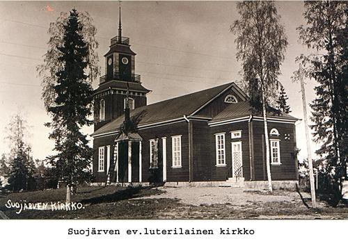 Suojärven ev. lut. kirkko Suvilahdessa